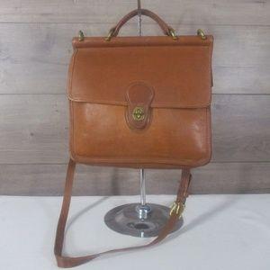 Coach British Tan 9927 Willis Shoulder Bag